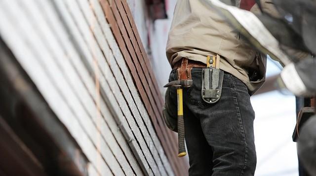 werkbroek voor op de bouwplaats