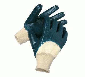 werkhandschoen gebreid met nitril coating