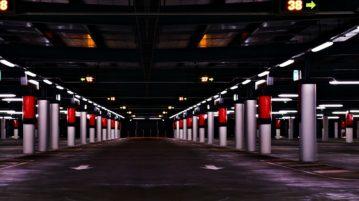 afzuigsysteem in de parkeergarage