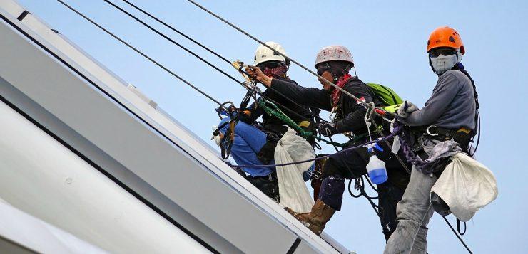 veilig werken op het dak