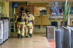 wat te doen bij brand op werk
