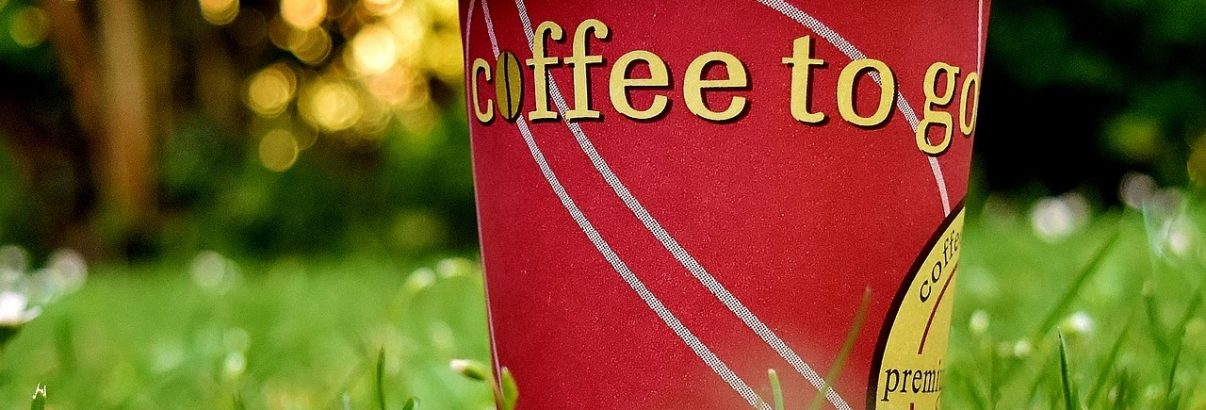 Veilig koffie drinken als je onderweg bent?