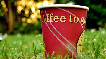 koffie onderweg drinken